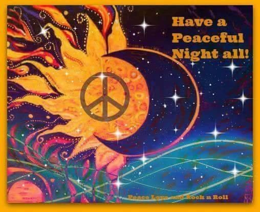 Good Night Peaceniks Peace Signs Pinterest Peace And Drawings