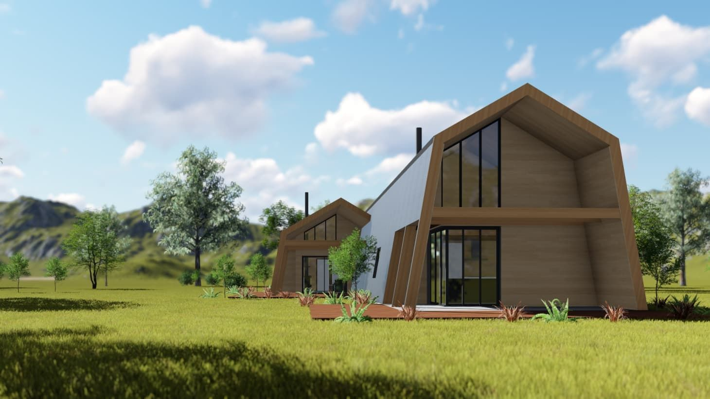 This Eco-Friendly DIY House Kit Starts at $200,000 | Kit ...