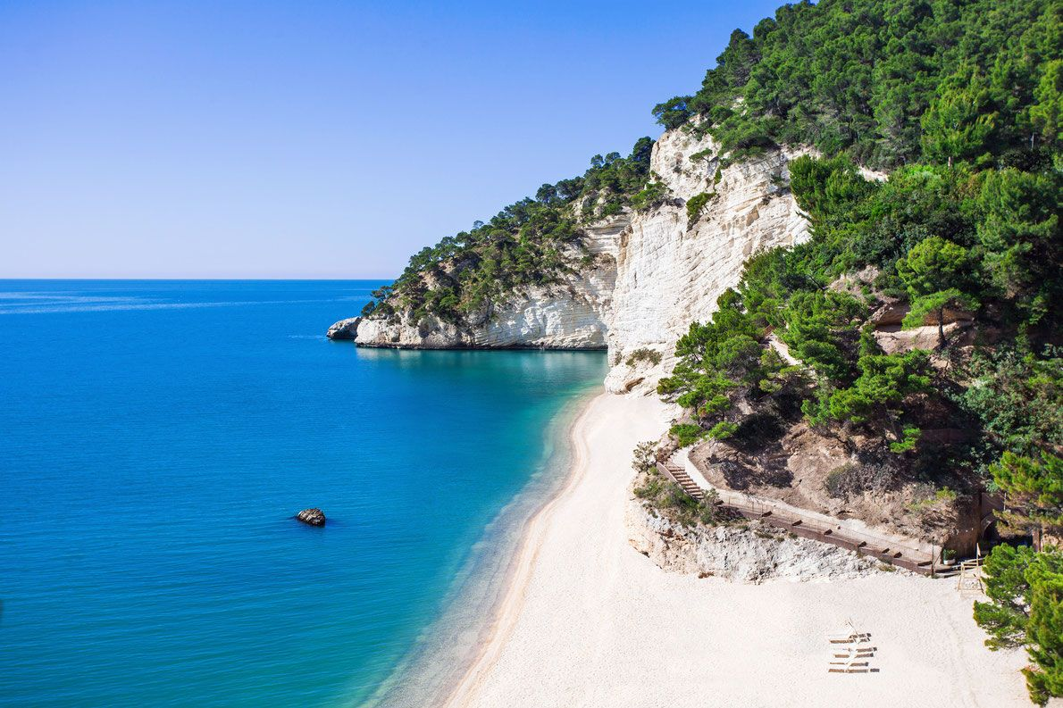 Baia delle Zagara beach in Italy - Best beaches in Europe ...