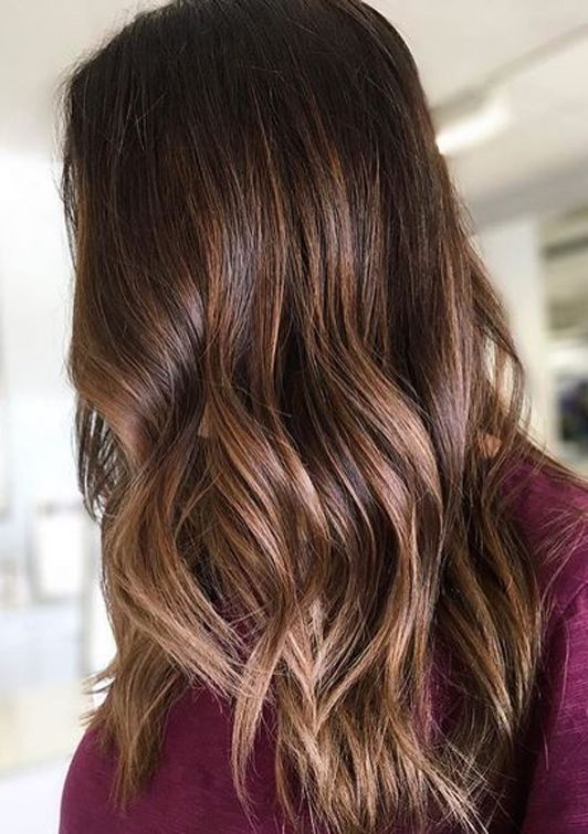 65 Modern Coffee Brunette Textured Blonde Highlights For 2017 2018 Hollysoly Hair Color