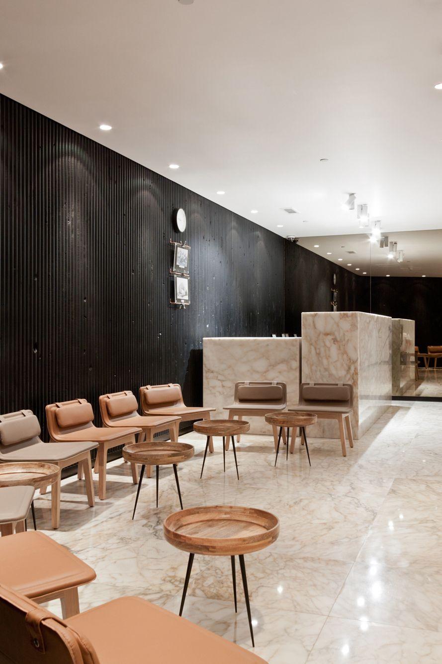 the yoga center lounge area kuwait city interior. Black Bedroom Furniture Sets. Home Design Ideas