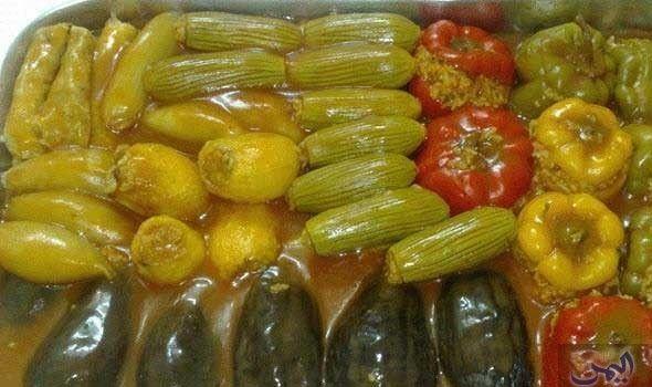 محشي مشكل بالفرن Cooking Recipes Stuffed Peppers Kurdish Food