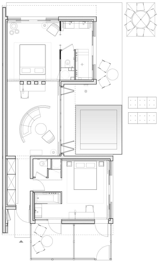 Plan Villa Plans Architecturaux Dessin Architecture Plan Maison