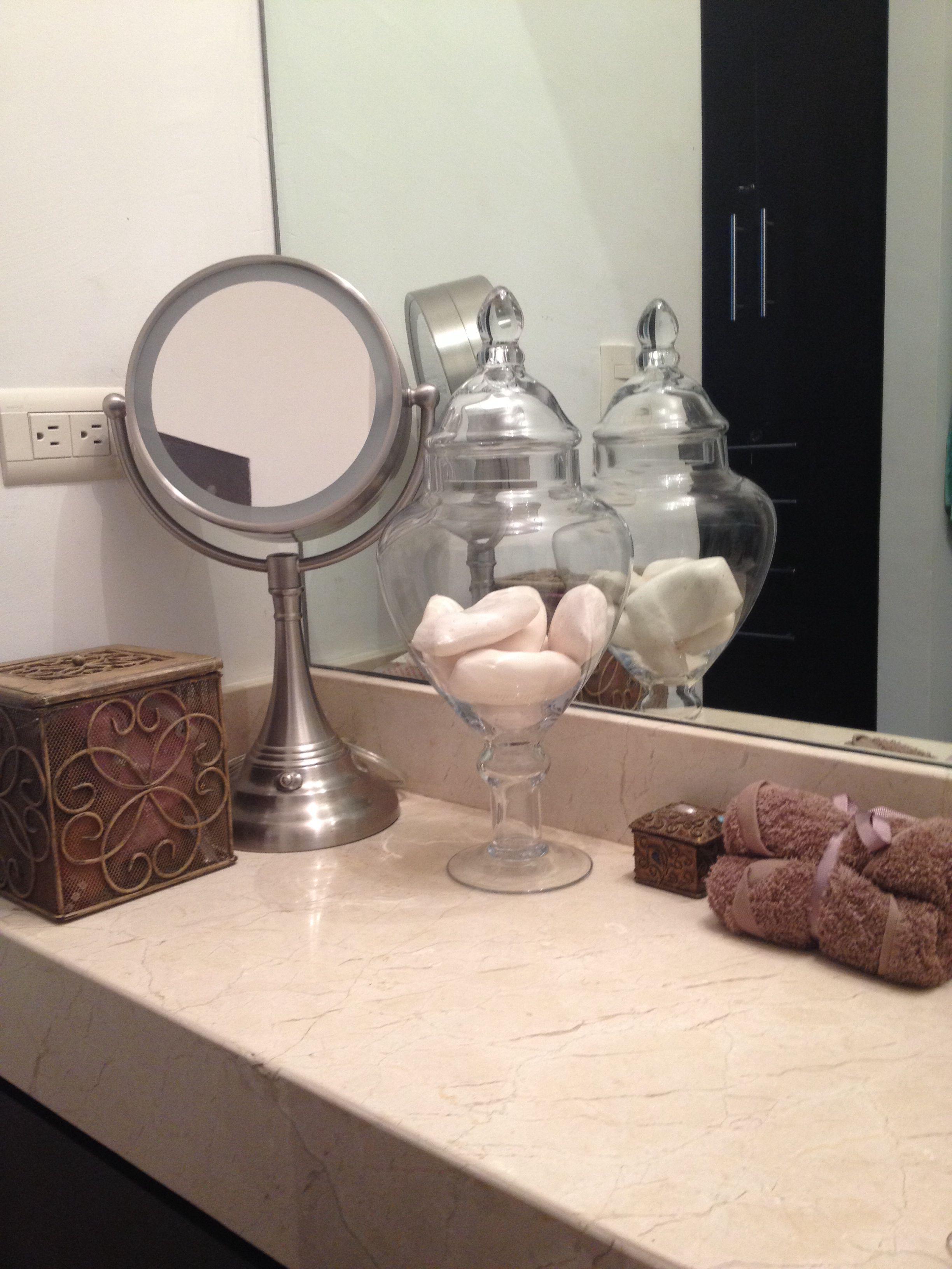 Detalle en el baño!