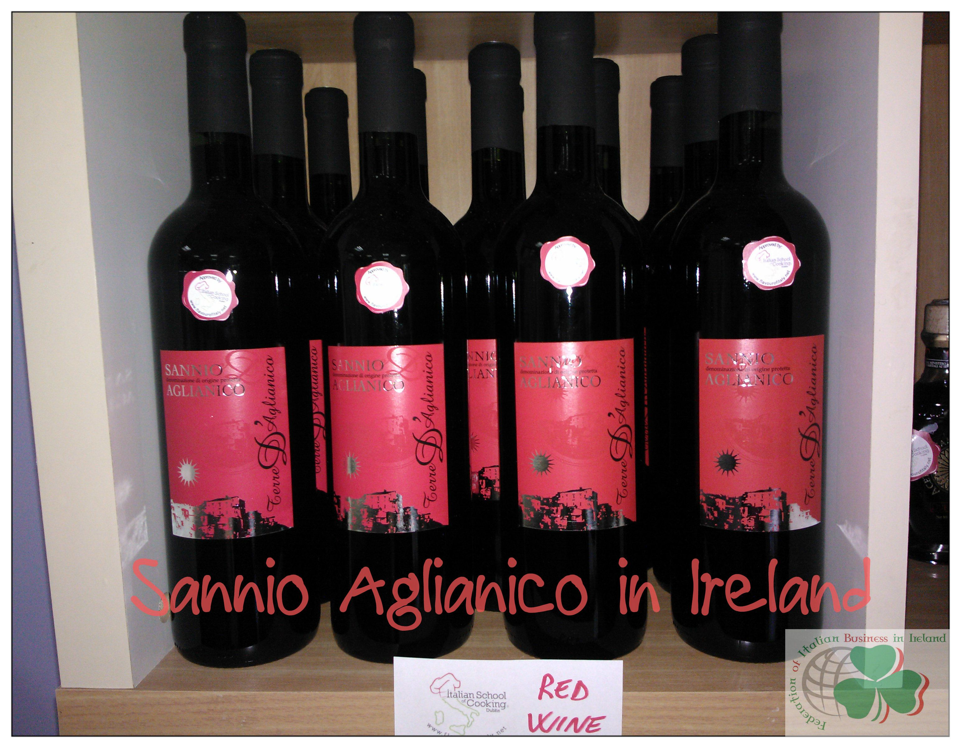 Red Wine Sannio Aglianico From Italy In Dublin Wine Red Wine Alcoholic Drinks