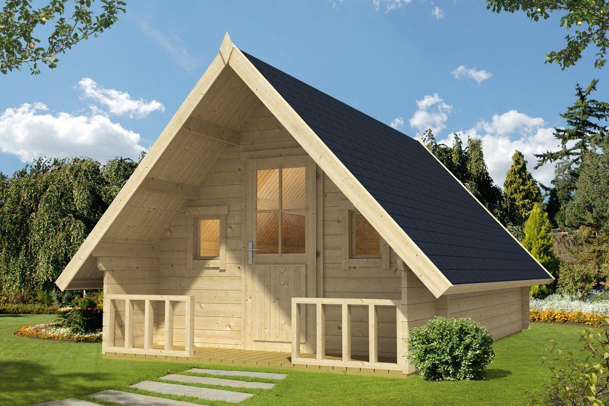 380 cm x 550 cm Gartenhaus Ev planı, Hayallerinizdeki ev