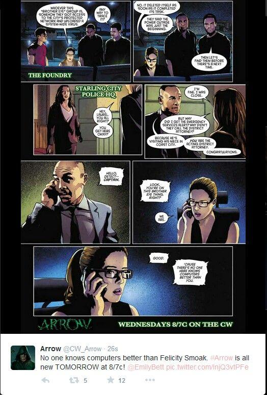 Arrow - The secret origin of Felicity Smoak