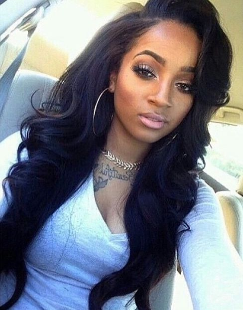 Black Women Hairstyles Body Wave Wavy Long Wigs For Human Hair Lace Front African American Natural