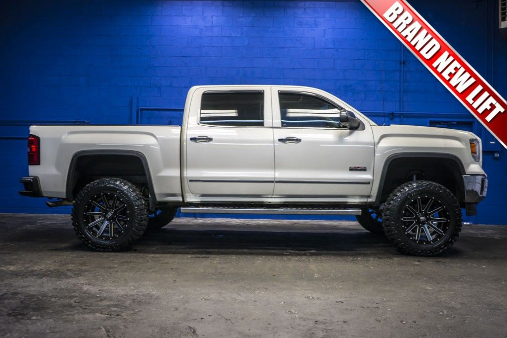 2014 GMC Sierra 1500 SLT All Terrain 4x4 With a New Lift ...
