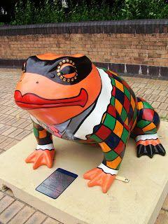 BARTIE-BLOG: Larkin with Toads 27, Harlequin, Mischievous man of mystery Location Queens Dock Avenue