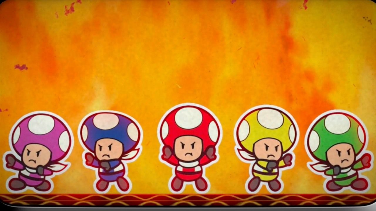 Paper Mario Color Splash Official Rescue V Episode 1 These Toads