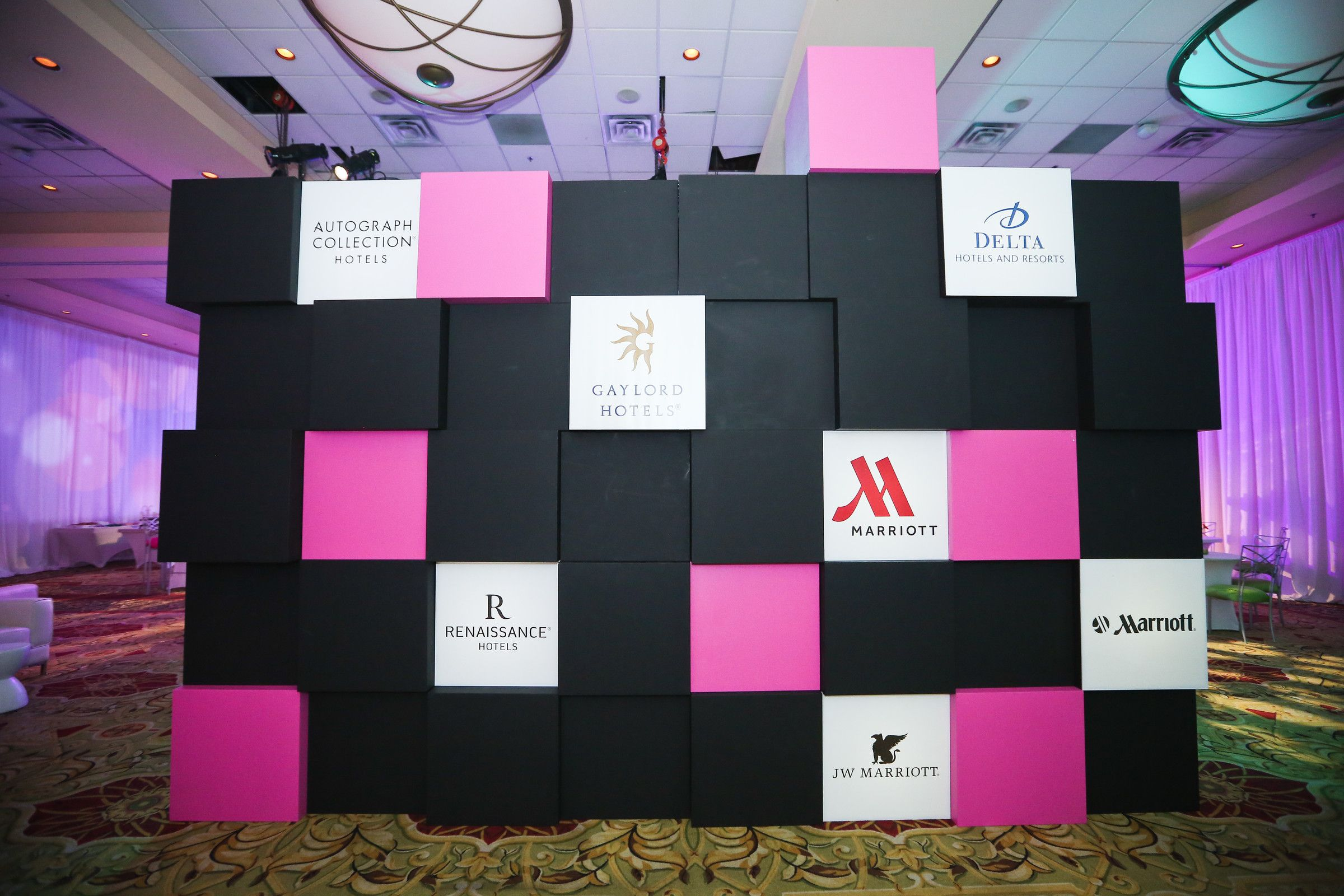 Branding Wall Corporate Events Decoration Corporate Event