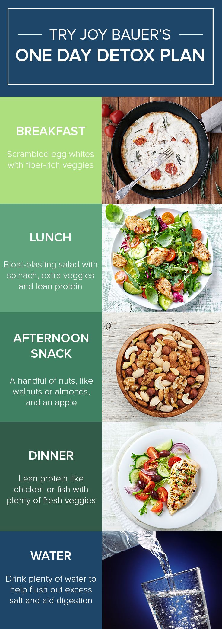 one food diet for one day
