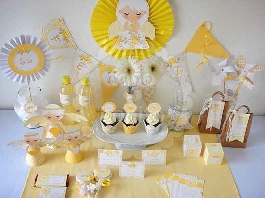Imprimibles para decorar tus fiestas infantiles decoideas net comunion pinterest ideas - Como decorar un salon para bautizo ...