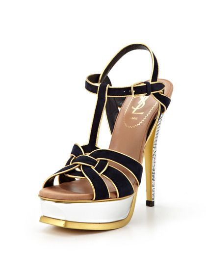 Tribute Knot Sandal By Ysl At Gilt Fabulous Feet