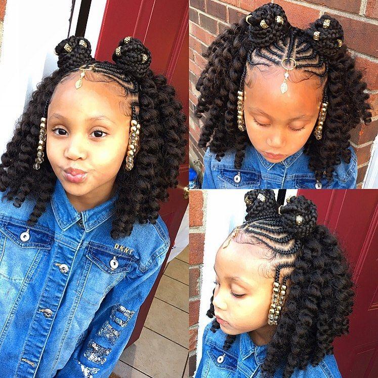 Tylica On Instagram Kay Bae Braids And Crochets Braids Braidsstyles P Kids Hairstyles Girls Crochet Braids For Kids Cute Hairstyles With Curls