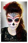 Sugar Skull Fantasy Makeup 2 by ~Kan3xO on deviantART