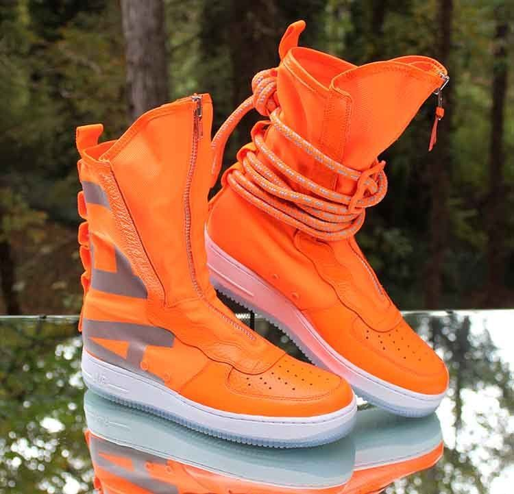 519303c04975 Nike SF-AF1 High Total Orange White AA1128-800 Men s Boot Size 9  Nike   AthleticSneakers
