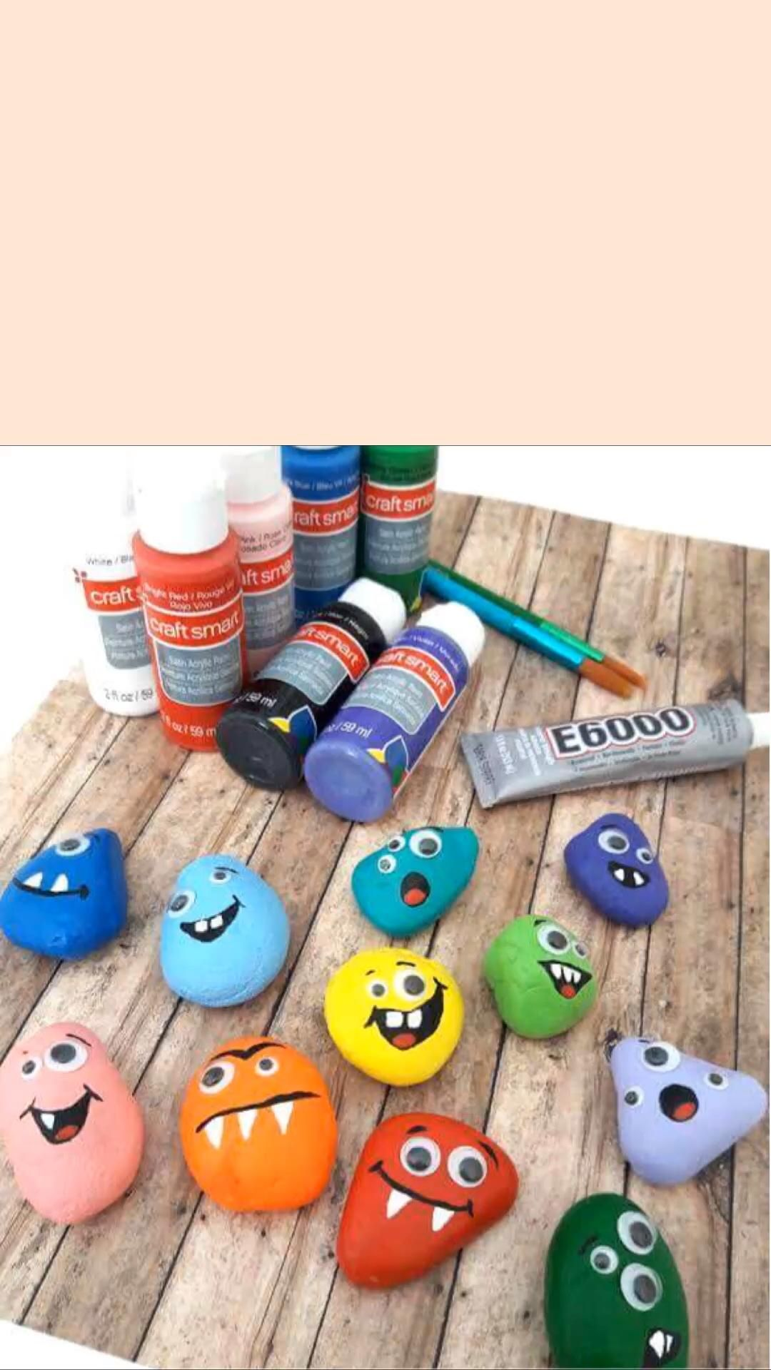 Photo of Monster Painted Rocks
