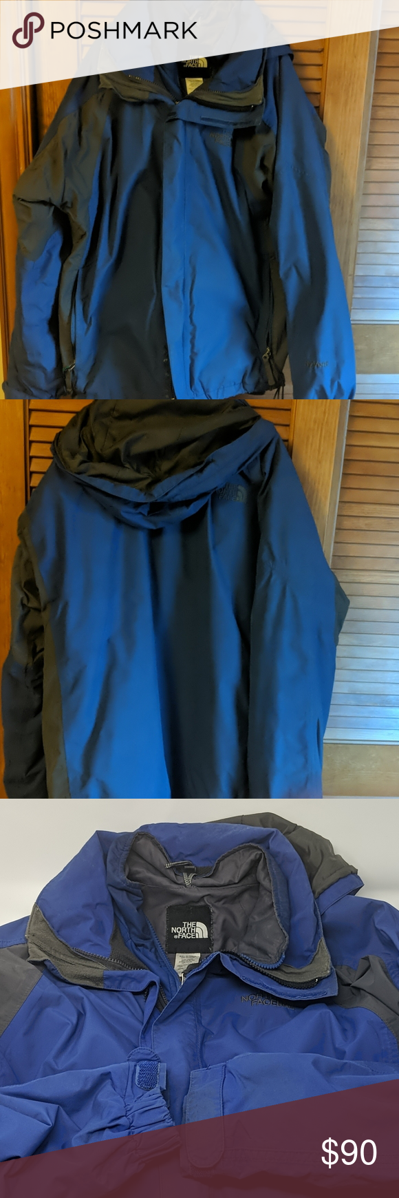 The Northface Hyvent 2 In 1 Ski Winter Jacket M Winter Jackets Winter Outfits The North Face [ 1740 x 580 Pixel ]