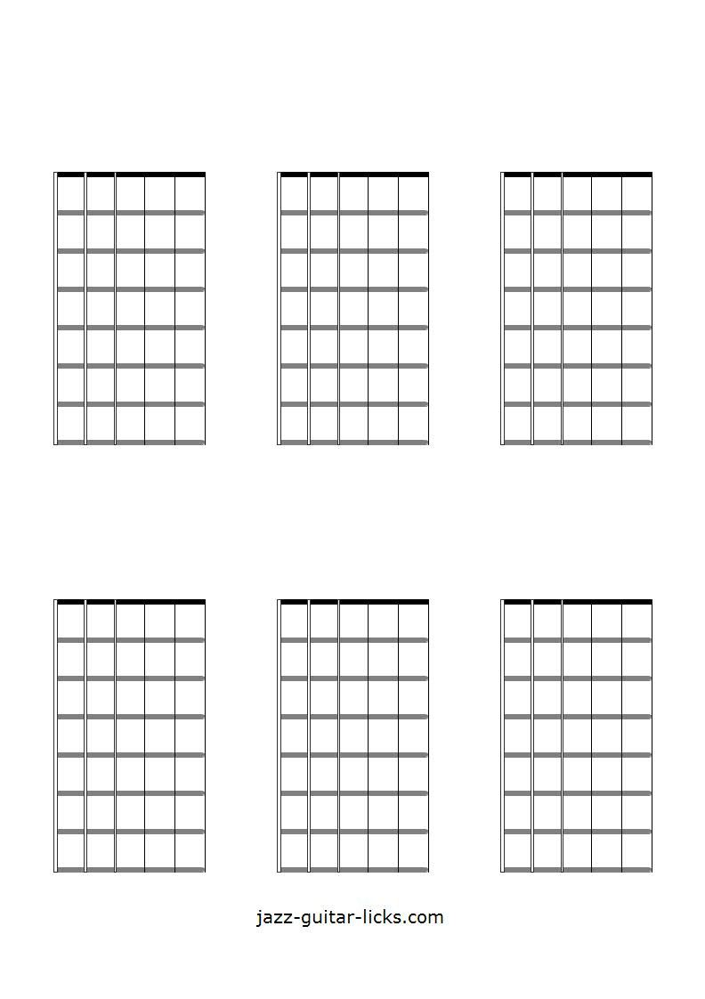 It's just a graphic of Printable Guitar Chords Chart with movable