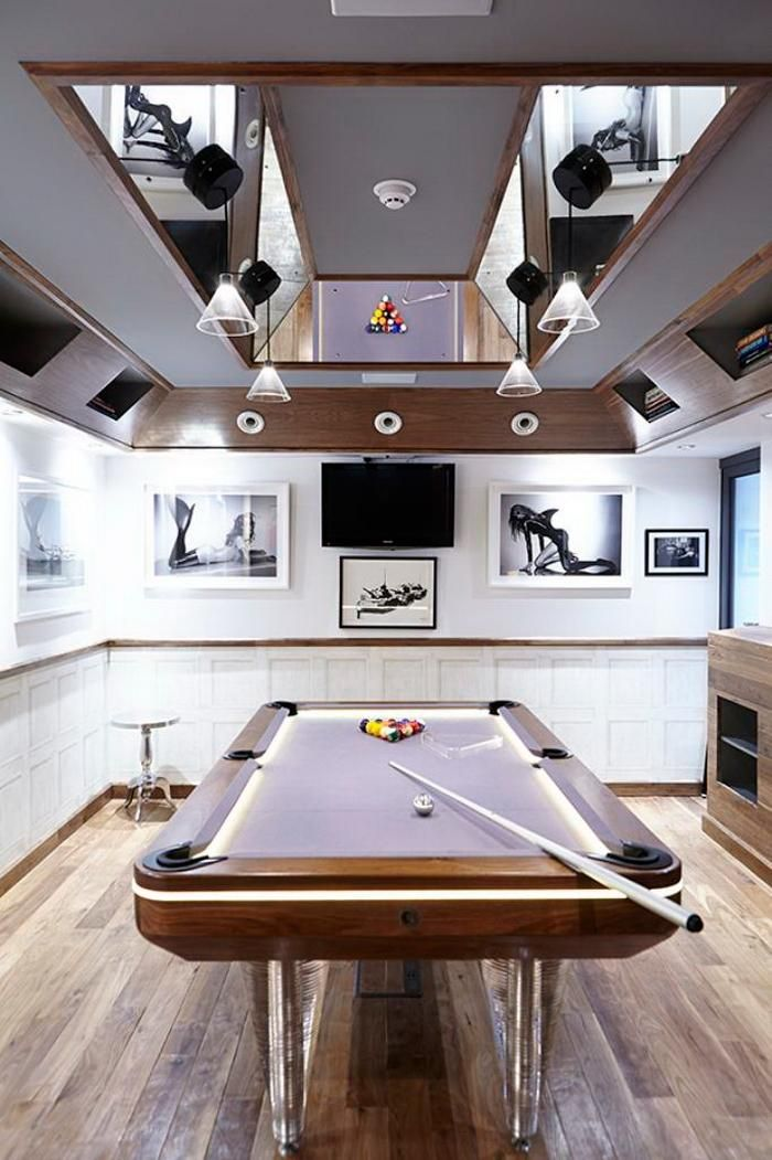 Delicieux A Man Cave Must Have: Light Up Pool Table #mancave #gamesroom