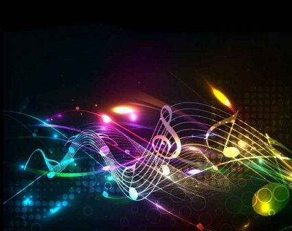 Beautiful Notes Lines Vector Background Free Vector In Music Backgrounds Music Notes Music Wallpaper