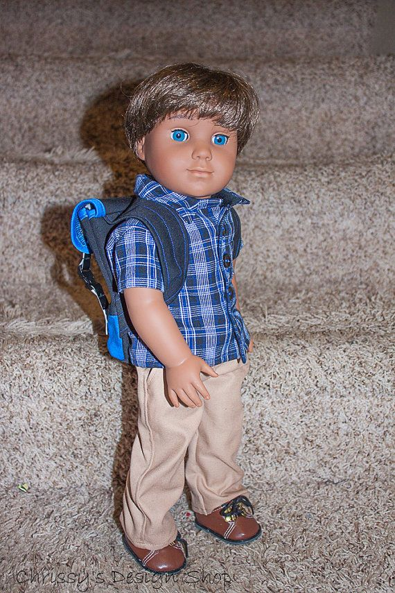 3978a3f31f5ac 18 inch custom boy doll / medium skin tone by Chrissysdesignshop ...