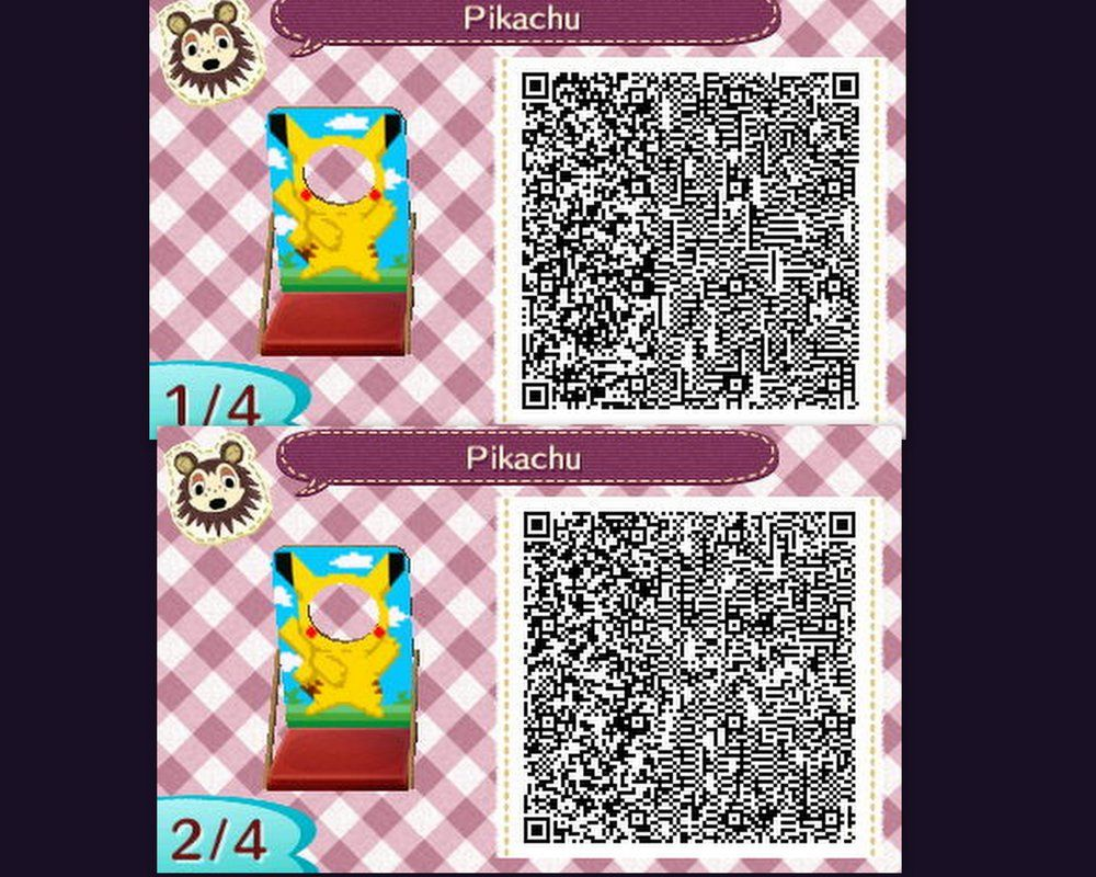 Pikachu cut out pattern by neonredwings also awesome ac nl qr codes rh pinterest