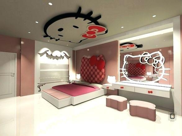 überraschend große hello kitty Schlafzimmer Dekorationen