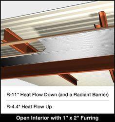 Metal Building Existing Roof Under Truss Metal Roof Insulation Metal Building Insulation Building Insulation
