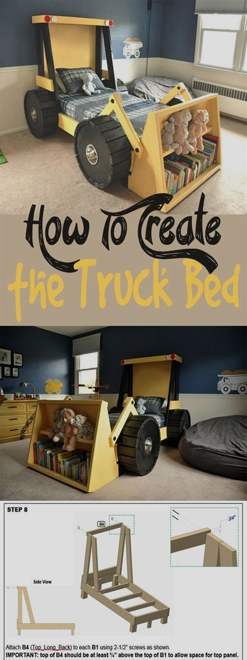 DIY Bedroom Ideas For Girls Or Boys - Furniture images
