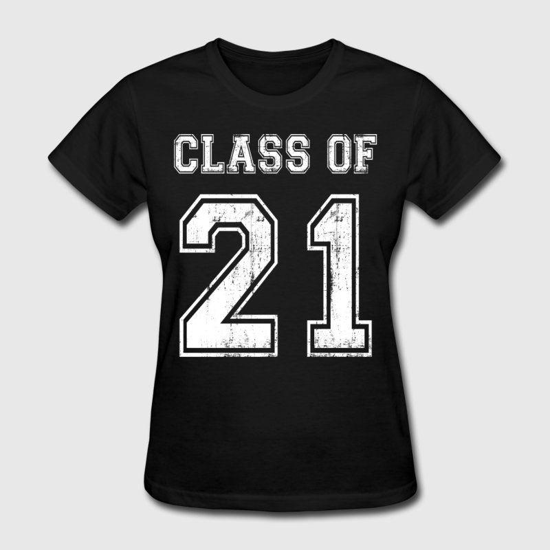 Class of 2021 tshirts womens tshirt senior class