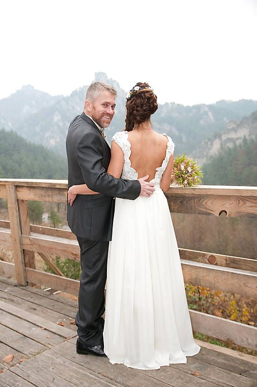 mara.zb / svadobné šatky a sako  ,pre sl.L
