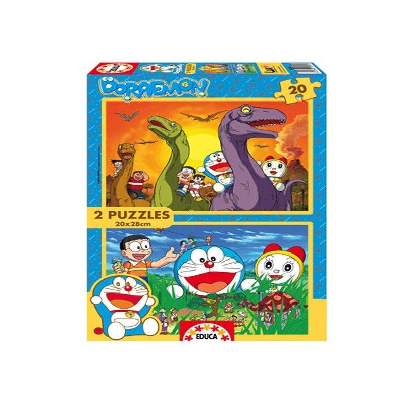 15398 - Puzzle Doraemon 2 x 20 piezas, Educa.  http://sinpuzzle.com/puzzles-infantiles-20-piezas/689-puzzle-doraemon-2-x-20-piezas.html