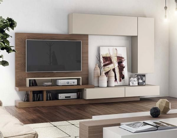 Modern Wall Storage System With Cabinet, TV Unit U0026 2 Wall Cabinets   See  More