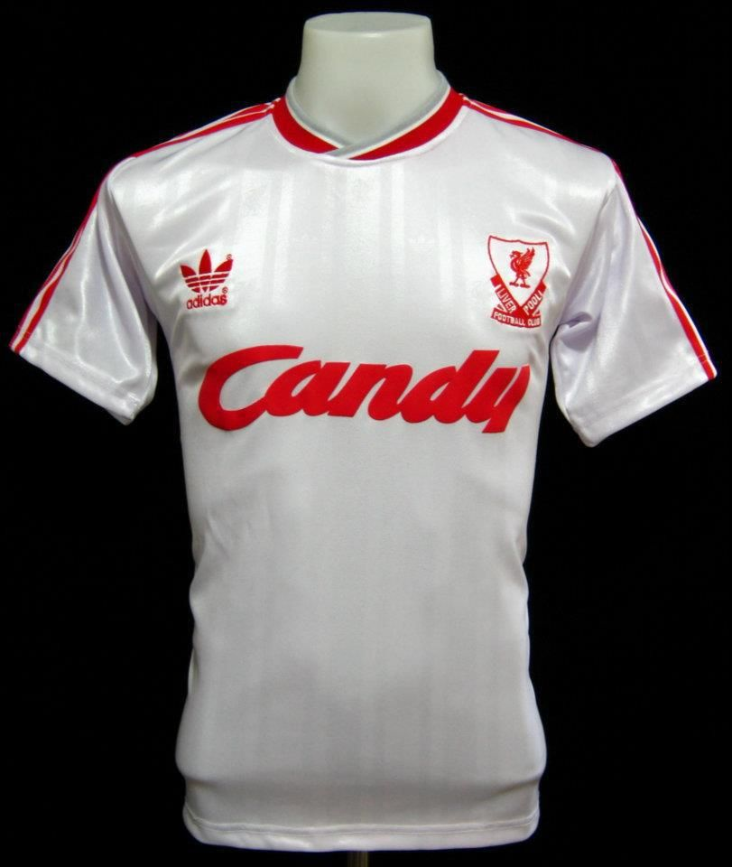 9d1c56e86 5 pieces of Liverpool Candy 1988-89 third shirt coming this wednesday.  Measurements Large
