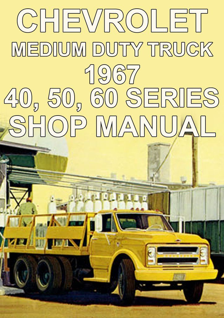 CHEVROLET 1972 Truck Shop Manual 72 Chevy Pickup