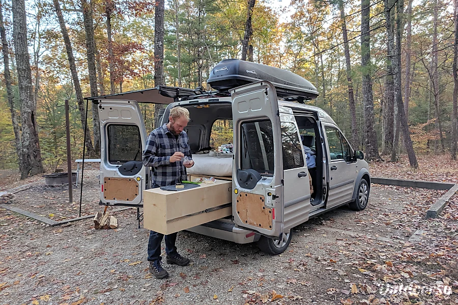 2010 Ford Transit Motor Home Camper Van Rental in Long