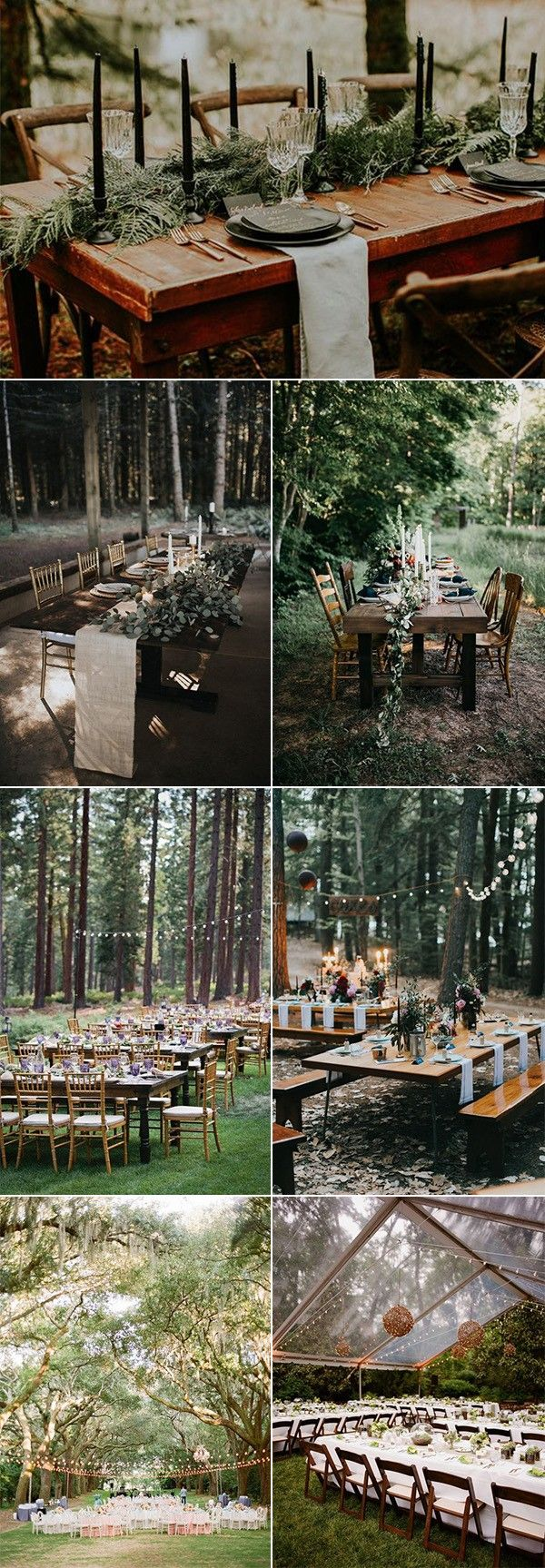 25 Whimsical Woodsy Forest Wedding Reception Ideas for 2019 Trends