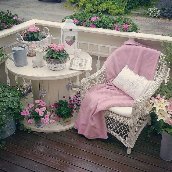 15 rousing ideas for designing your leisure in shabby chic style – Decoration De