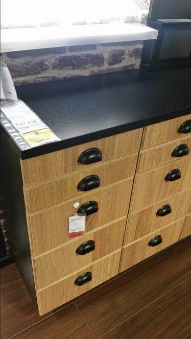m thod hyttan ikea cuisine pinterest poign e meuble. Black Bedroom Furniture Sets. Home Design Ideas