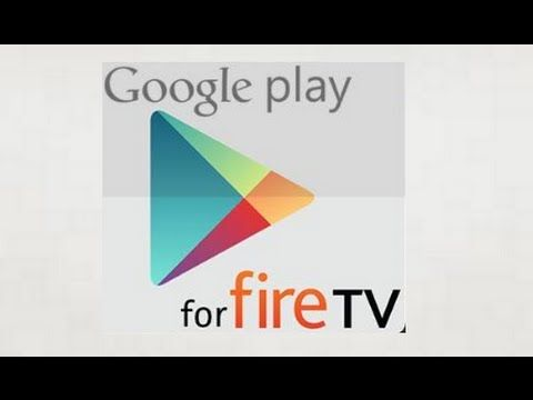 INSTALL PLAY STORE APPS ON FIRE TV STICK SOLO MAN App