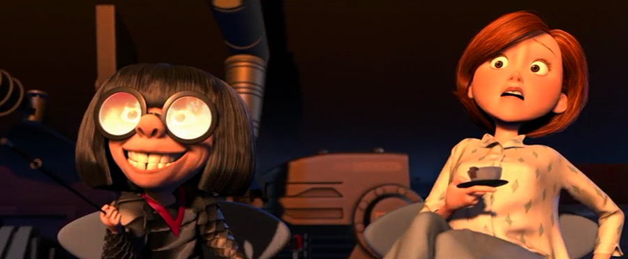 Edna Excited Helen Scared Incredibles Meme Template