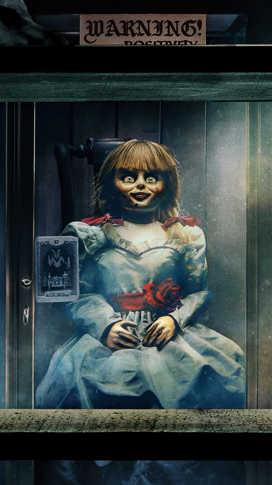 Doll Warning Annabelle Comes Home 2019 4k Ultra Hd Mobile Wallpaper Horror Movie Icons Horror Movie Art Horror Wallpapers Hd