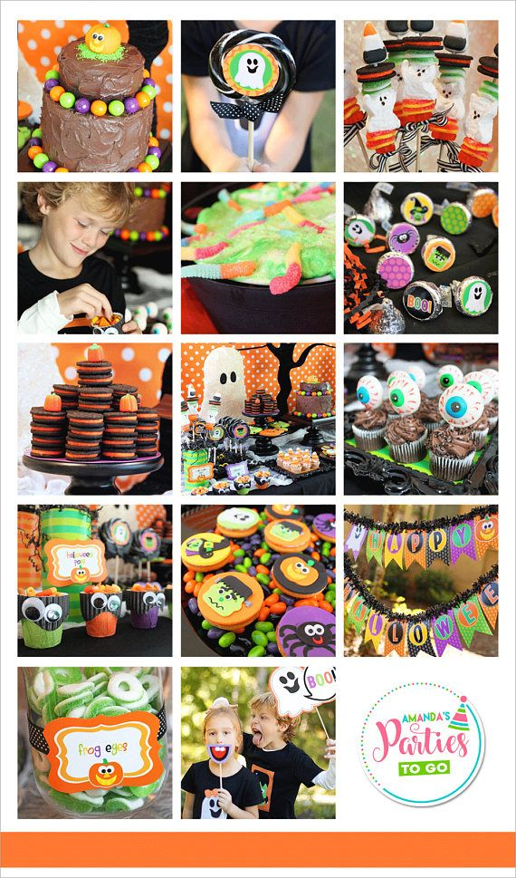 Halloween Party Printable Halloween Decorations Halloween Party