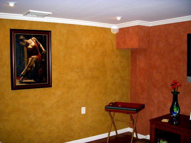 Ralph Lauren Red Suede Paint
