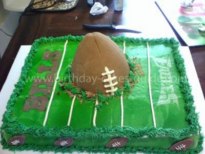 Football Cake Pictures Birthday Cakes Ideas Football