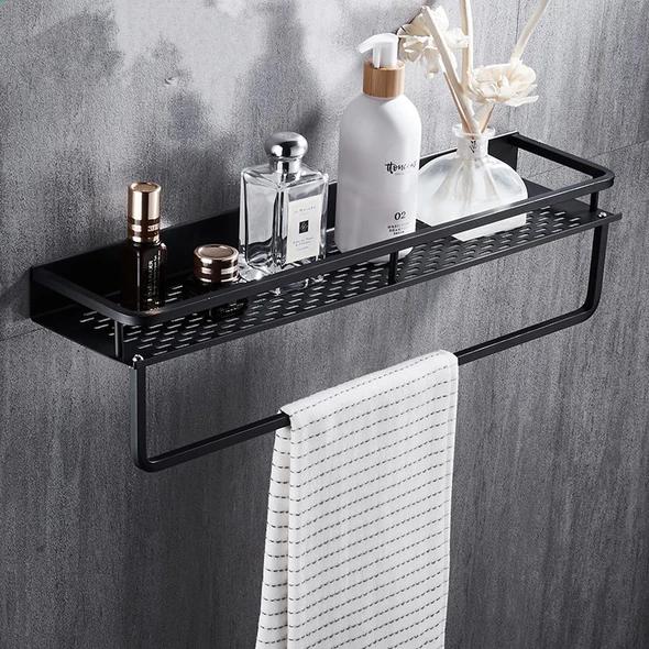 Photo of FLOG Black Aluminum Shelf