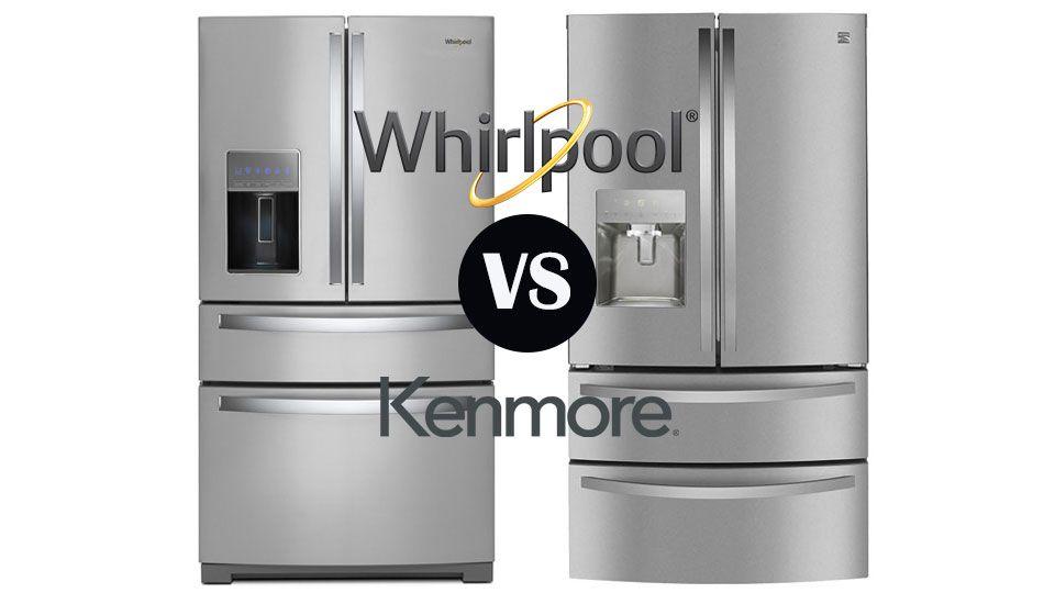 Kenmore Vs Whirlpool Refrigerators Goedeker S Home Life Kenmore Refrigerator Refrigerator Energy Star Refrigerator